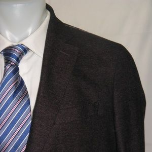Peter Millar Two Button Silk Blend Blazer 42 L